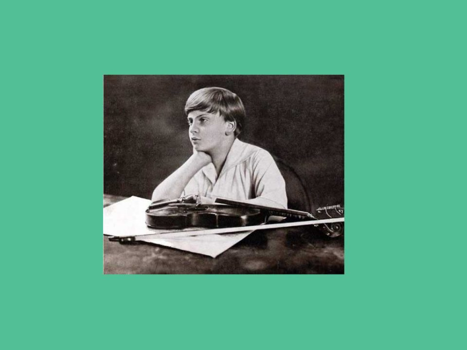 Virtuose violoniste - Yehudi Menuhin